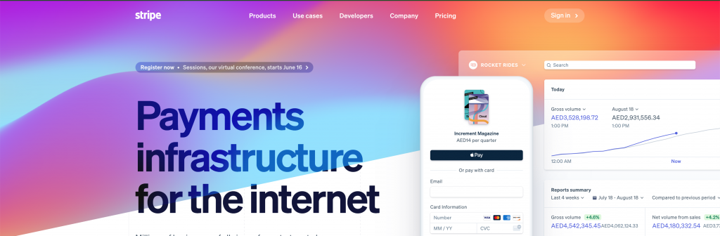 Stripe, a popular payment gateway launches in UAE
